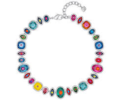 multi colored necklace images Luminous fairy necklace multi colored rhodium plating jewelry jpg