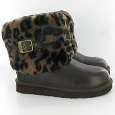 womens ellee ugg boots uk ugg ellee boots in stout brown