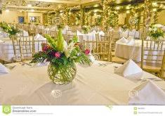 Decorating Banquet Tables Gold Chevron Table Runner For A Simple