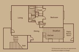 Senior Apartments Dallas TX Floor Plans Meadowstone - One bedroom apartments dallas
