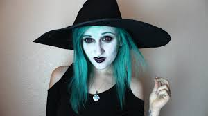 the green witch project makeup tutorial youtube