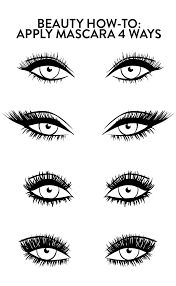 How To Curl Your Eyelashes Beauty How To Four Best Ways To Apply Mascara For Perfect