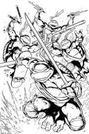 teenage mutant ninja turtle coloring kids coloring sheets