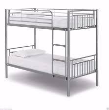 sale ends soon new metal frame single bunk bed 3ft kids or