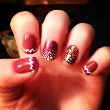 nail art just finished painting my nails gorgeous maroon maroon