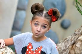 minnie mouse buns disney hairstyles cute girls hairstyles