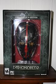 Dishonored Mask What U0027s In The Box Dishonored 2 Collector U0027s Edition U2013 Sticky Bunton