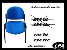 le de bureau pas cher chaise empilable pas cher chaise mobilier de bureau lpa of achat