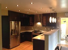Kitchen Can Lights Great Kitchen 4 Recessed Lighting Inside Lights Prepare Top Living