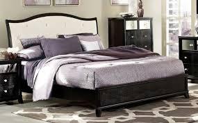 Black Sleigh Bed Homelegance 2299w 1 Jacqueline Faux Alligator Black Queen