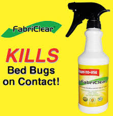 Bed Bug Sprays Fabriclear Get Rid Of Bed Bugs With Fabriclear Bed Bug Spray Remover