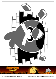cartoon pumpkin stencil angry birds pumpkin carving templates costumes and more