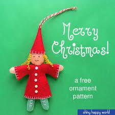 free ornament pattern a sweet shiny happy world