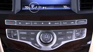 2016 infiniti qx60 hev heater and air conditioner youtube