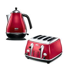 Red Polka Dot Kettle And Toaster Red Kettle Toaster And Microwave Microwave Baked Potato