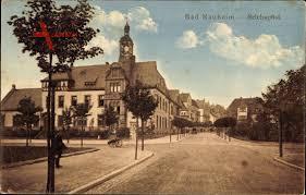 Postleitzahl Bad Nauheim Bad Nauheim Im Wetteraukreis Hessen Straßenpartie Mit Reichspost Xl