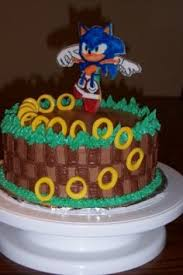 sonic the hedgehog cake topper sonic the hedgehog birthday cake cakes hedgehogs