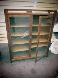 Cheap Oak Bookcases Mission Curio Cabinets Foter