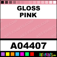 gloss pink industrial work day enamel paints a04407 gloss pink