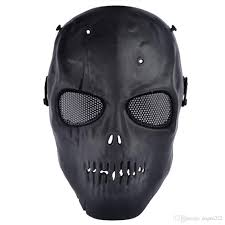 skeleton ghost mask mask tape picture more detailed picture about full face cosplay