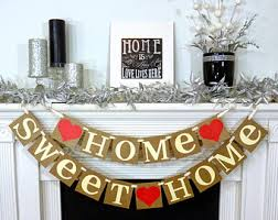 home sweet home decorations home sweet home rustic sign garland banner fireplace
