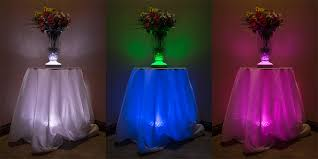 Waterproof Vase Lights Led Lights For Flower Vases Blue Led Lights For Centerpieces