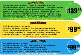Steam Clean Car Interior Price Detail Services Cleanway Car Wash