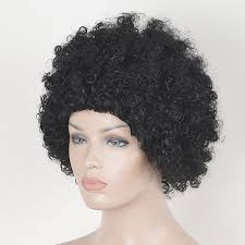 short hairstyle wigs for black women black women short afro fluffy cheap none lace kinky curly