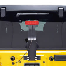 jeep wrangler third brake light 07 16 jeep wrangler jk third brake light mounting bracket