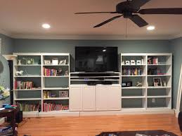our diy built in bookshelves project jessica leake