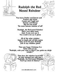 bluebonkers rudolph red nosed reindeer free printable