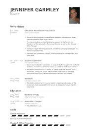 Sample Of Executive Assistant Resume by Executive Administrative Assistant Resume Samples Visualcv