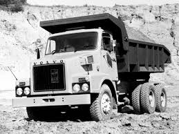 volvo white truck volvo n1027 tipper rhd u00271973 u201389