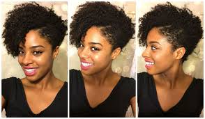 tapered natural hairstyles my first tapered natural haircut youtube
