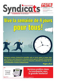 bureau du chomage bruxelles fgtb syndicats fgtb n 1 2016 publications