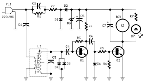 mains remote alert circuit diagram and instructions