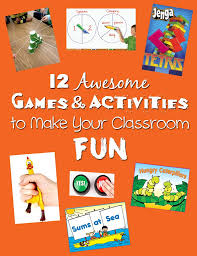 12 awesome games u0026 activities to make your classroom fun u2013 bored