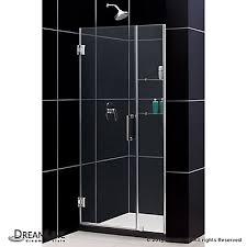 40 Shower Door Dreamline Unidoor 40 Inch To 41 Inch X 72 Inch Semi Frameless