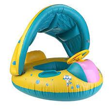 siege gonflable bébé winomo bouée gonflable avec siège pour bébé avec gonfleur en pvc