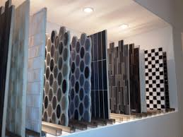 bathroom mosaic tile ideas awesome dark brown cheramic cool design floor interior ideas for