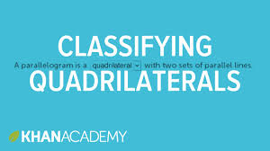 quadrilaterals classifying shapes geometry 5th grade khan