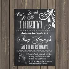chalkboard birthday invitations chalkboard birthday invitations