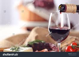 glass wine food on table closeup stock photo 422982328 shutterstock