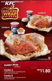 ik cuisine promotion kfc golden wrap chicken nationwide promotion sale promotion in
