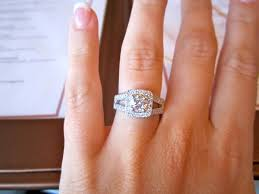 square engagement rings with halo 176 best rings images on rings rings and marriage