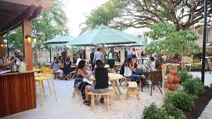 a caribbean inspired backyard party awaits at the new campton yard