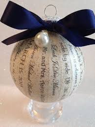 personalized wedding ornament 11 best images about 2017 on trek data