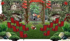How To Decorate A Backyard Wedding Olioboard Inspiration Summer Backyard Wedding Inspiration