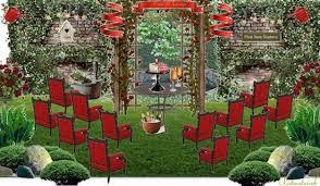 How To Decorate A Backyard Wedding Olioboard Inspiration Summer Backyard Wedding Inspiration