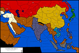 Asia Map Games by Diplomacy Maps